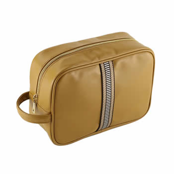 High-quality Leather Cosmetic Bag