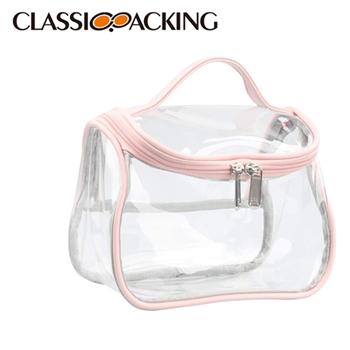 Clear Beauty Cosmetic Bags in Bulk