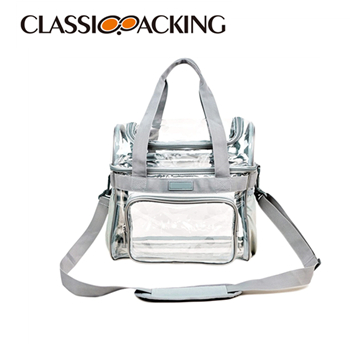 Clear Custom Logo Makeup Bag