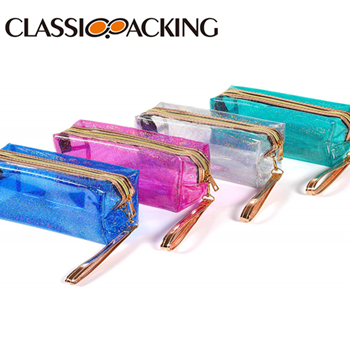 Holographic Travel Promotional Cosmetic Bags
