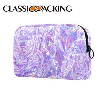 Custom Holographic Makeup Travel Bag