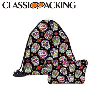 Drawstring Cosmetic Bag Kit
