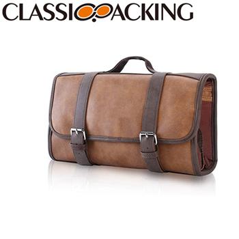 High-quality Leather Makeup Bag