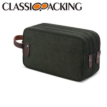 Canvas Zipper Cosmetic Bag