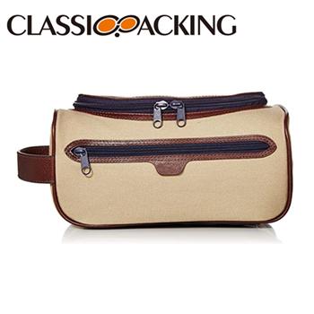 Men's Canvas Cosmetic Bag