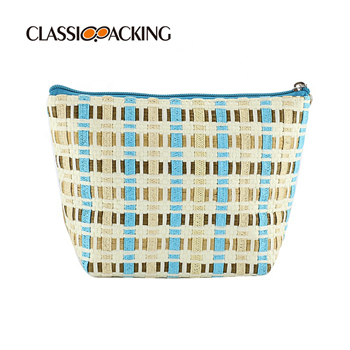 Sustainable Cosmetic Bag with Zipper