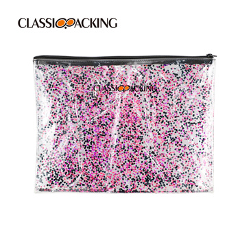 Glitter Promotional Cosmetic Bags