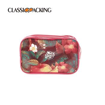 Semi-transparent Custom Logo Makeup Bags