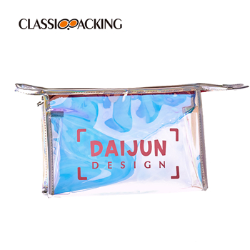 Hologram Make Up Pouches Wholesale With Strong Zipper