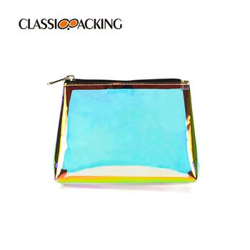 Custom Holographic Makeup Bag
