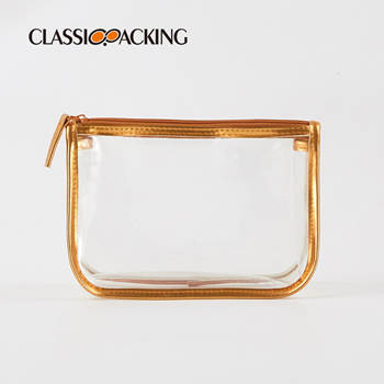 Clear Cosmetic Bags Wholesale With Zipper