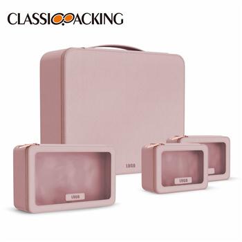 Pink Full Bag Collection Makeup Bag