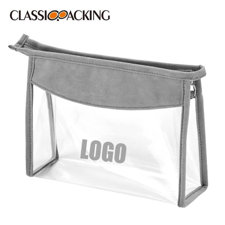Clear Custom Makeup Bag Wholesale