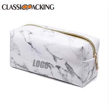 Marble Custom Cosmetic Bags Wholesale