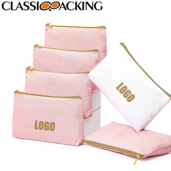 Canvas Custom Printed Cosmetic Bag Wholesale