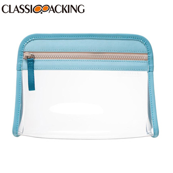 Travel Bulk Blank Makeup Bags With Durable Zipper