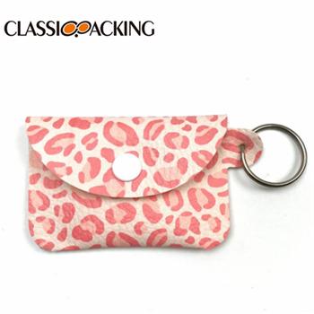 Plaid Mini Wholesale Coin Grab Bag Key Ring Wallet