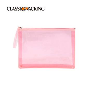 Pink Special Clear Bulk Customized Makeup Bags