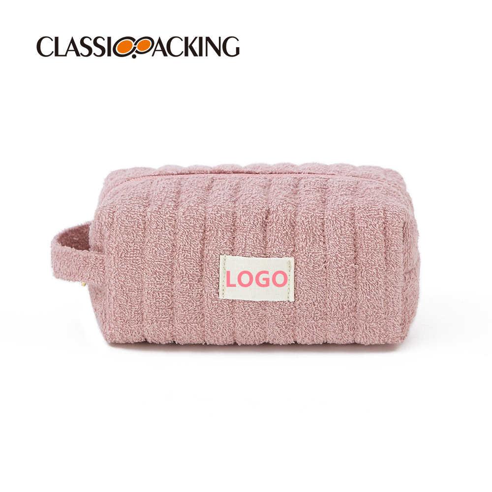 Towel Cloth Quilting Custom Makeup Bags
