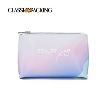 Custom Gradient Purple-Blue Toiletry Bag Bulk