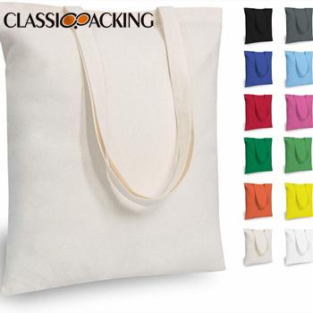 Economical Cotton Wholesale Tote Bags