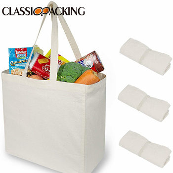 100% Quality Assurance Wholesale Canvas Shopping Bags