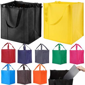 Reusable Reinforced Handle Bulk Grocery Bags