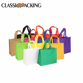 Colorful Canvas Bulk Shopping Bags