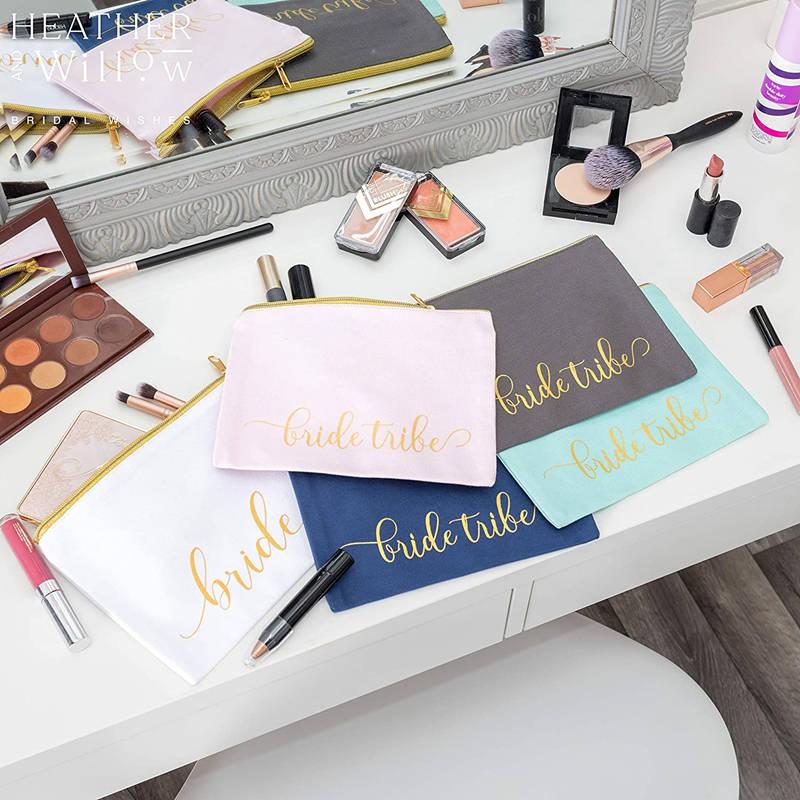blank custom canvas makeup organizer
