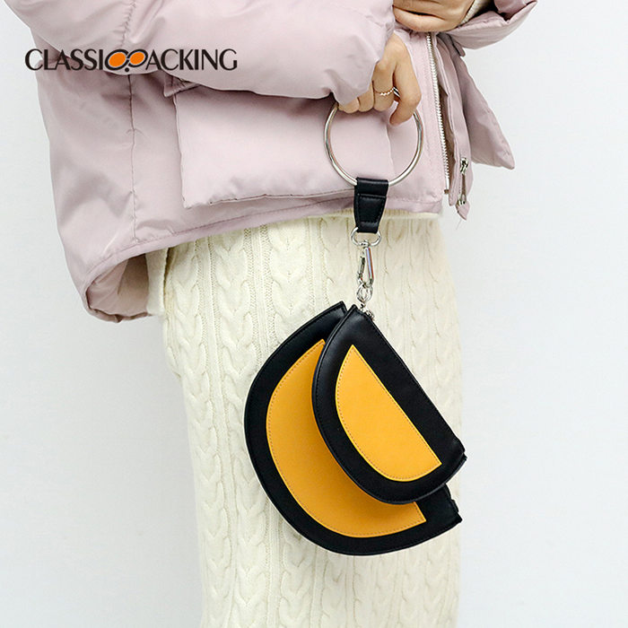 Moon-Shaped Coin Case
